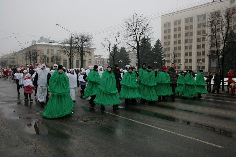 Dullest santa parade 4