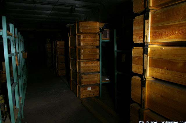 nuclear shelter from cold war in Russia 1