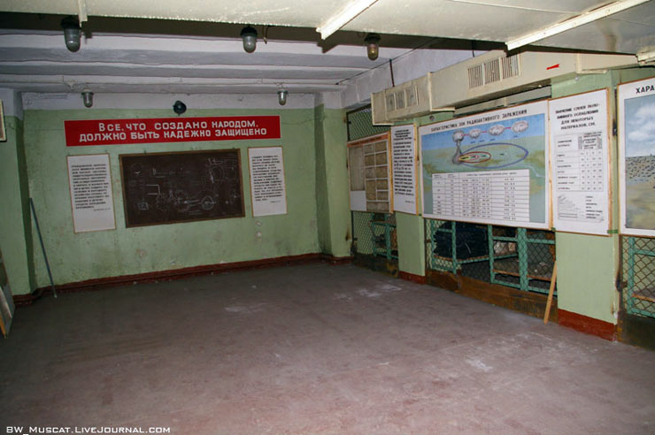 nuclear shelter from cold war in Russia 5