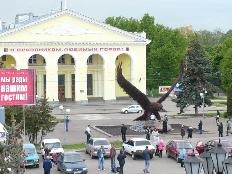 eagle monument in Russia 2