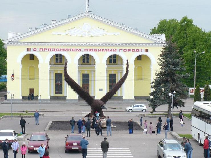 eagle monument in Russia 3