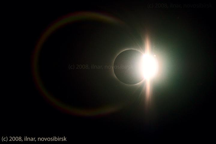 Solar eclipse 2008 in Russia 5