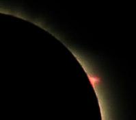 Solar eclipse 2008 in Russia 7