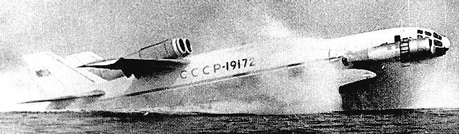 russian ekranoplane or ekranoplan 3