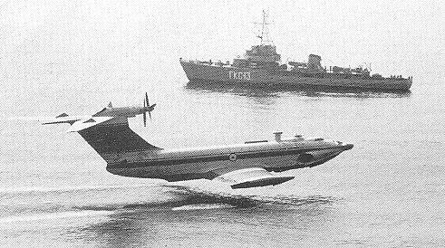 russian ekranoplane or ekranoplan 9