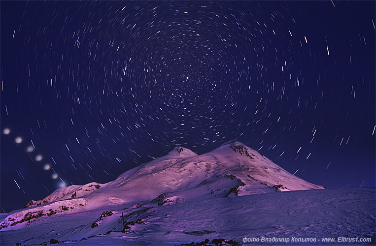 caucasian mauntains in Russia, Elbrus is the tallest 10