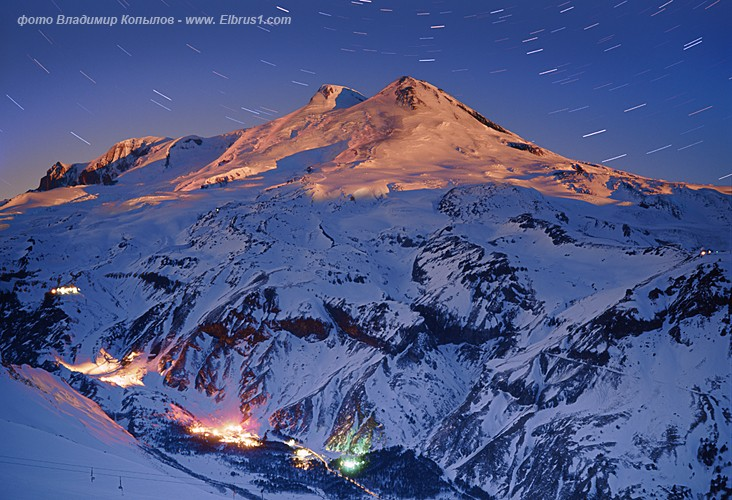 caucasian mauntains in Russia, Elbrus is the tallest 13
