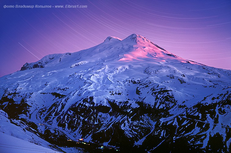 caucasian mauntains in Russia, Elbrus is the tallest 2