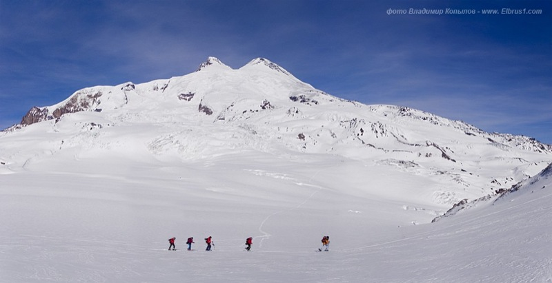 caucasian mauntains in Russia, Elbrus is the tallest 20