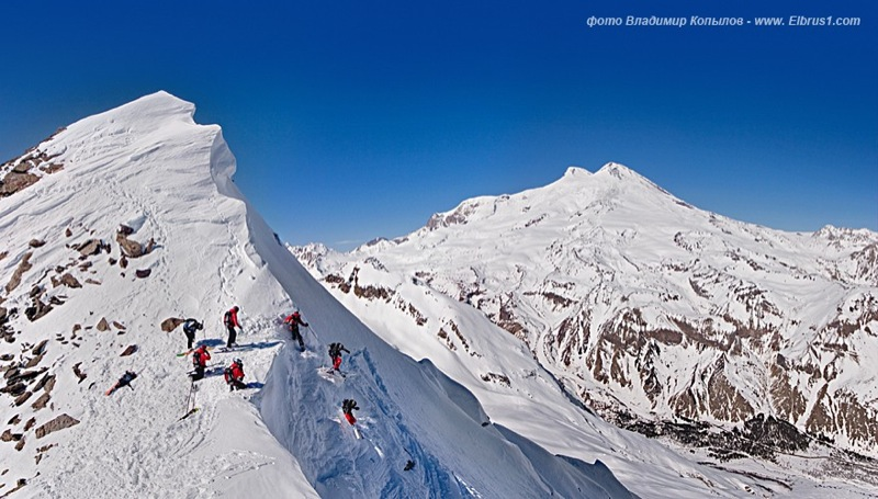 caucasian mauntains in Russia, Elbrus is the tallest 21