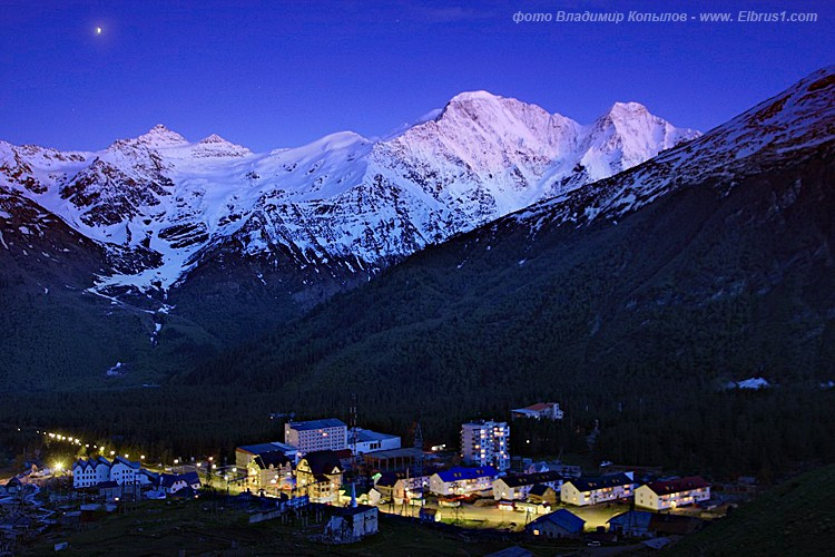 caucasian mauntains in Russia, Elbrus is the tallest 4