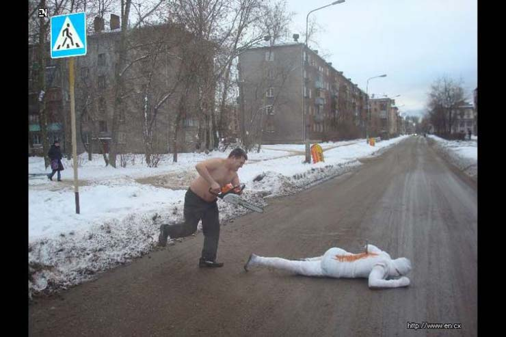Russian club that make staged photos 25
