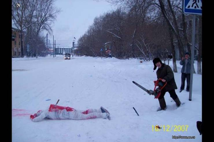 Russian club that make staged photos 34