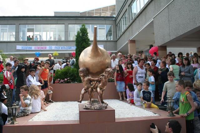 Russian enema monument 2