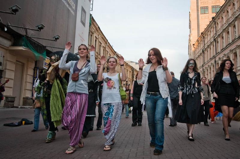 The Day When Ears Getting Long - Fairy Parade In Moscow 15