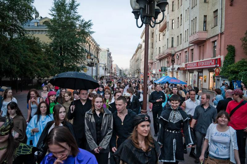 The Day When Ears Getting Long - Fairy Parade In Moscow 19