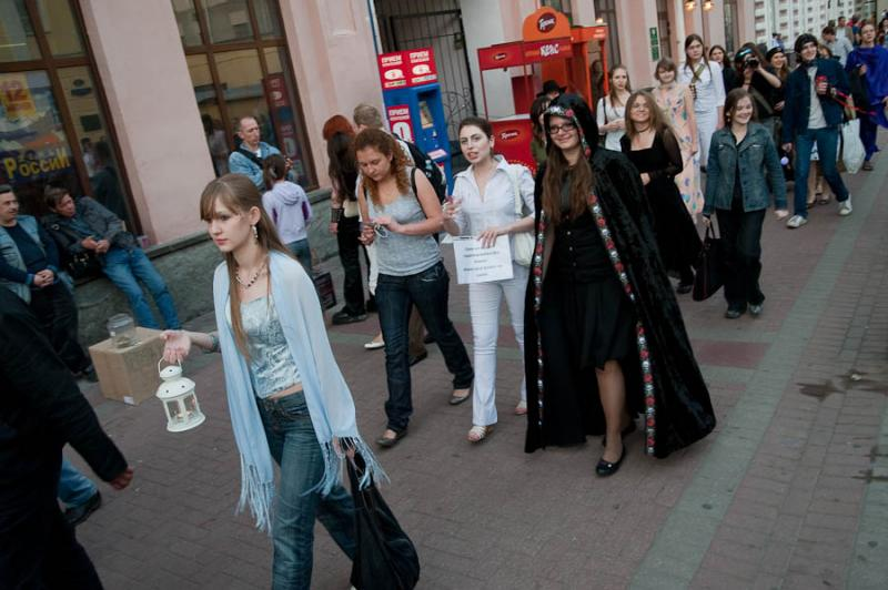 The Day When Ears Getting Long - Fairy Parade In Moscow 27