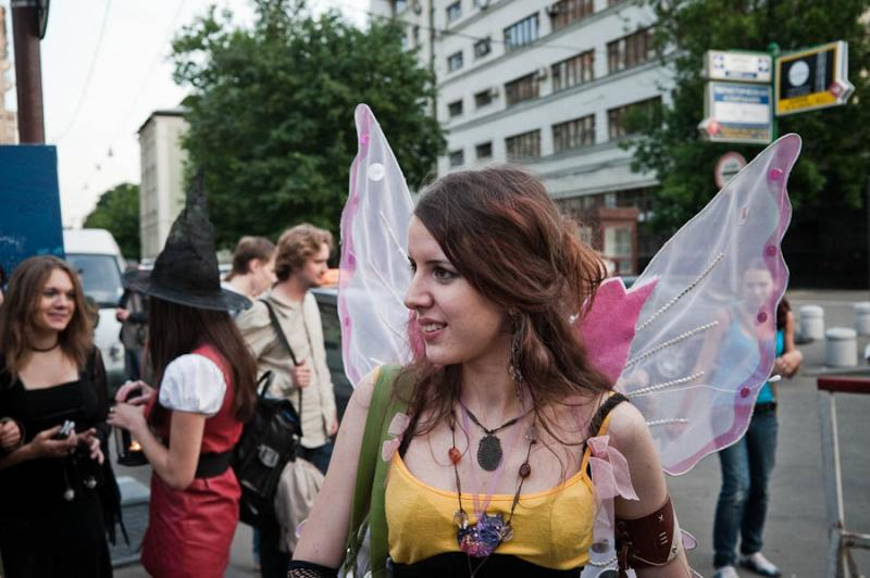 The Day When Ears Getting Long - Fairy Parade In Moscow 32