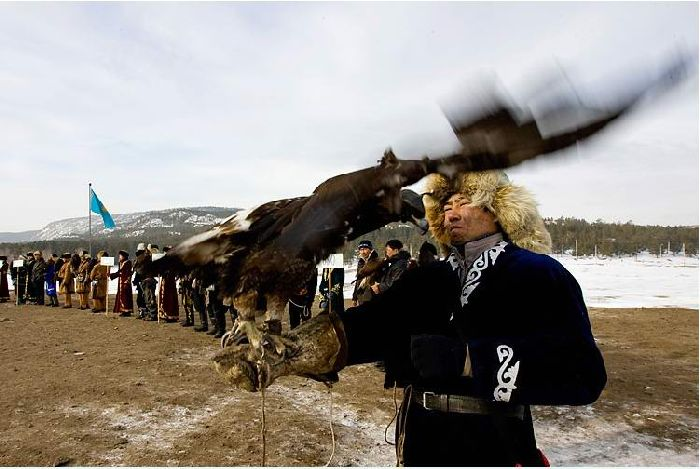 Falcon Hunt of Kazakhstan Nation