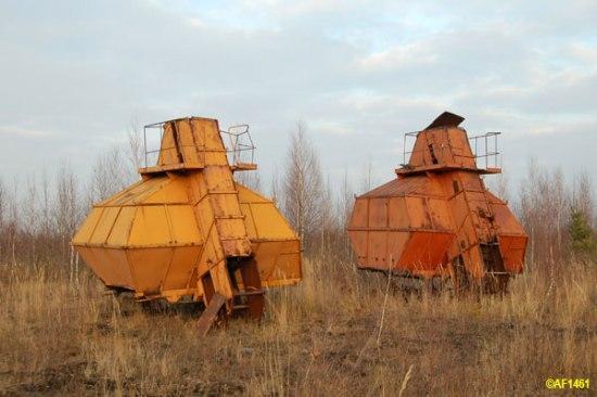 Fantastic Peat Harvesters