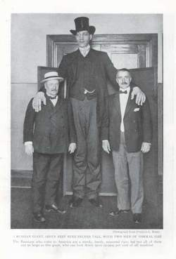Giant from Russia: Tallest man ever 2
