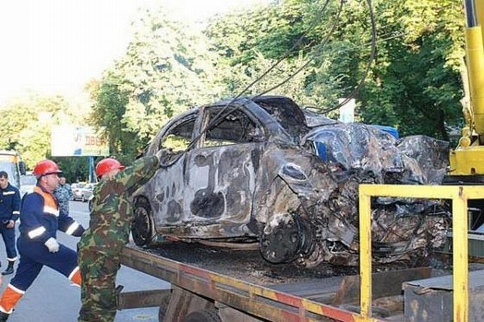 Russian car in Kiev 5