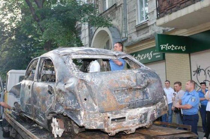 Russian car in Kiev 6