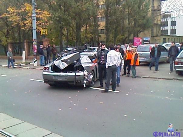 Ferrari cars in Russia 2