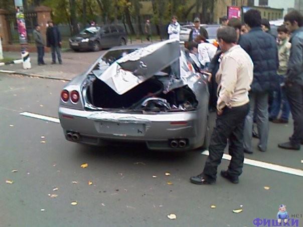 Ferrari cars in Russia 3