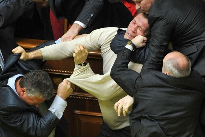 Fight In Verkhovna Rada 1