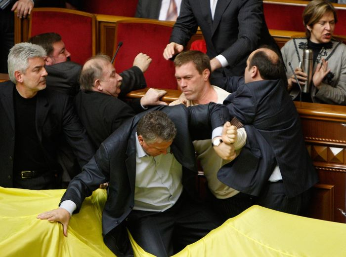 Fight In Verkhovna Rada 10