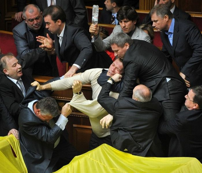 Fight In Verkhovna Rada 3