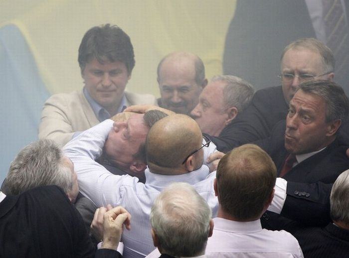 Fight In Verkhovna Rada 4