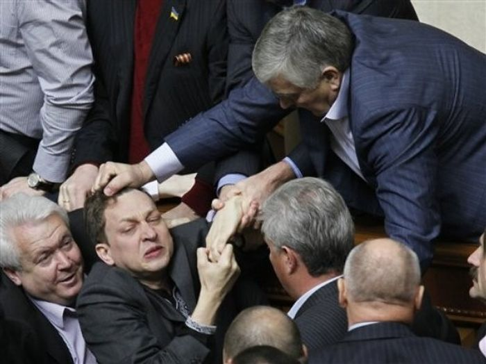 Fight In Verkhovna Rada 5