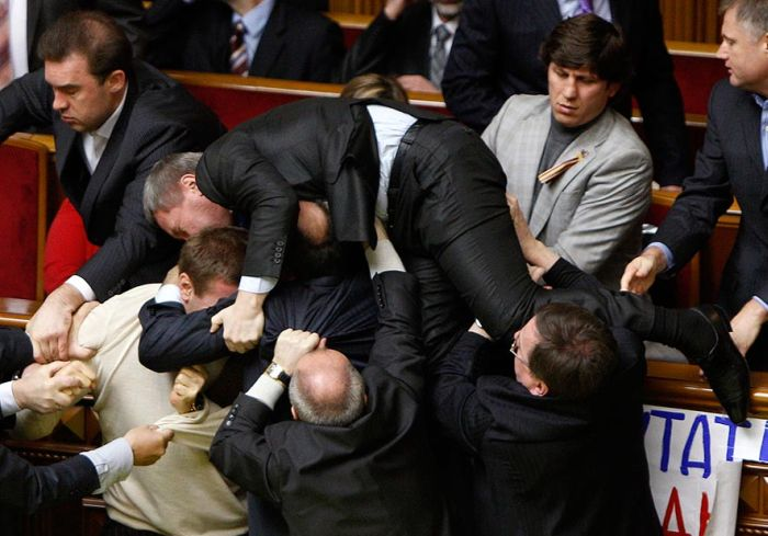Fight In Verkhovna Rada 6