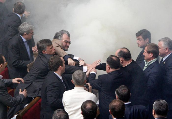 Fight In Verkhovna Rada 8