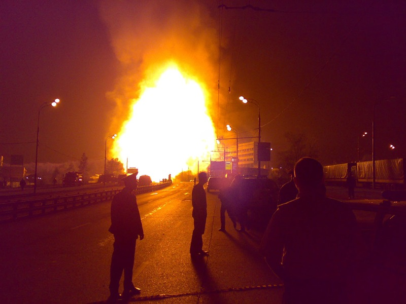 Moscow gas explosion 13
