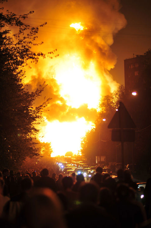 Moscow gas explosion 7