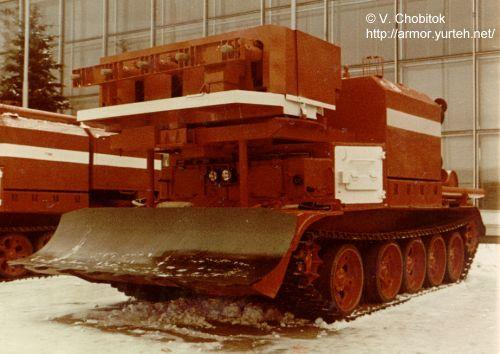 Fire Fighting Tanks of the USSR