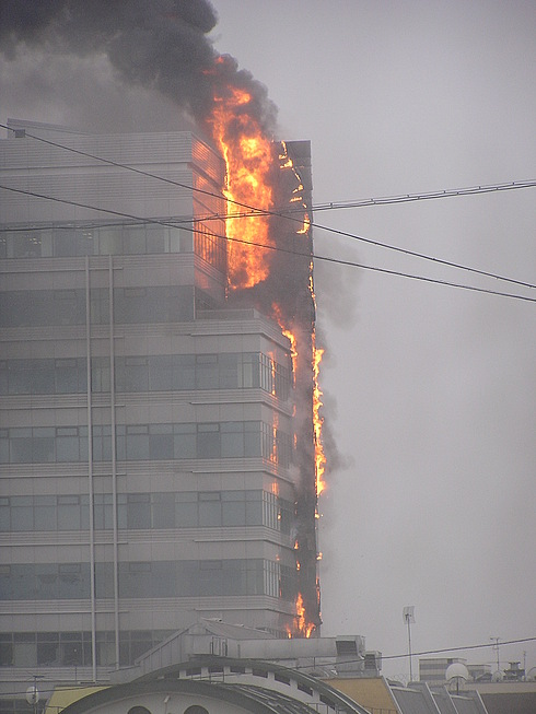 fire in moscow 1