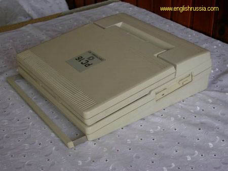 first russian laptop elektronika