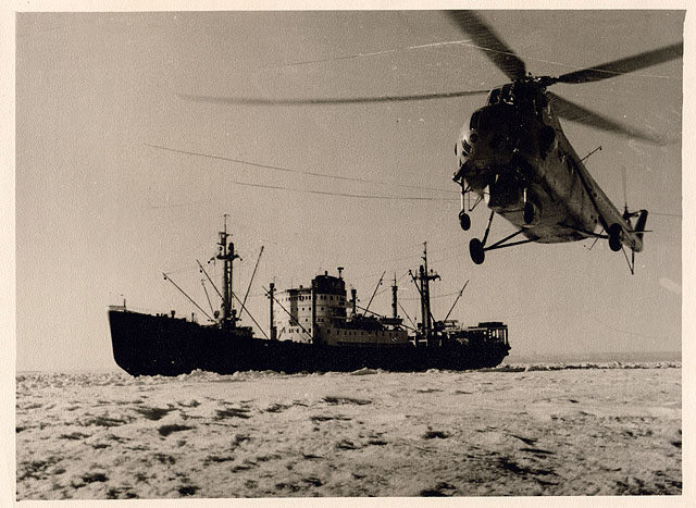 first Russian expedition to Antarctics in 1950 5