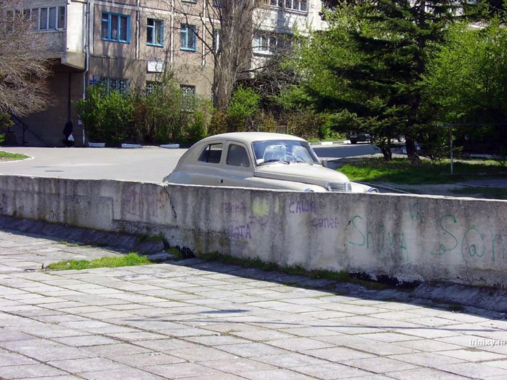 first Russian SUV 1