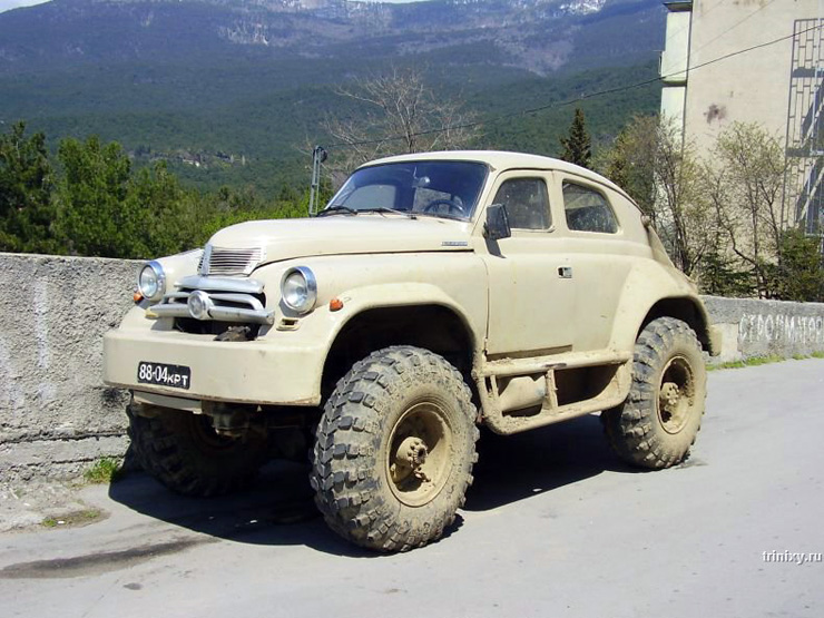 first Russian SUV 4