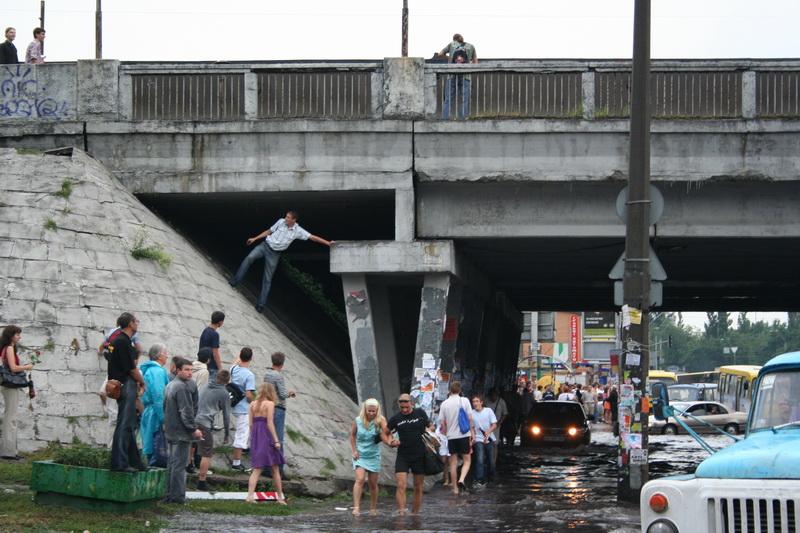 Russian flooding in Kiev 12