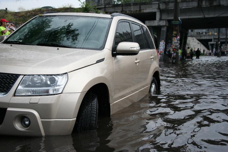 Russian flooding in Kiev 17