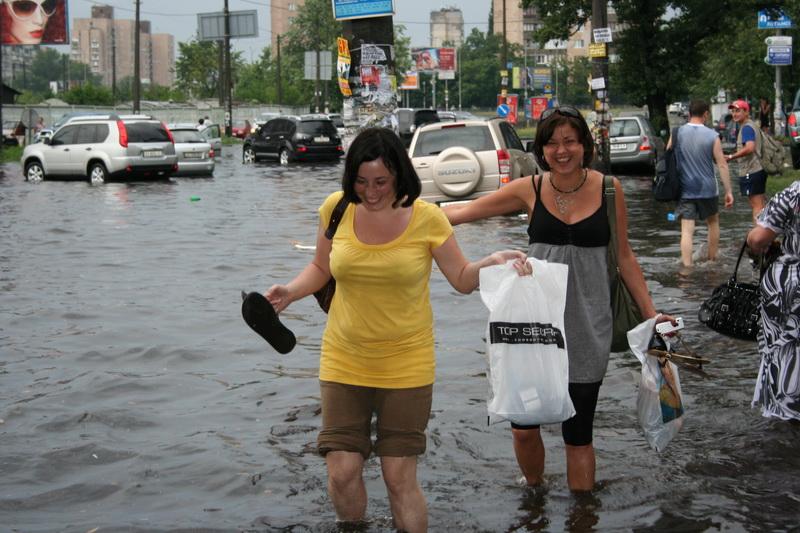 Russian flooding in Kiev 18