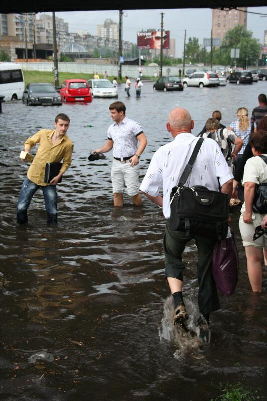 Russian flooding in Kiev 19