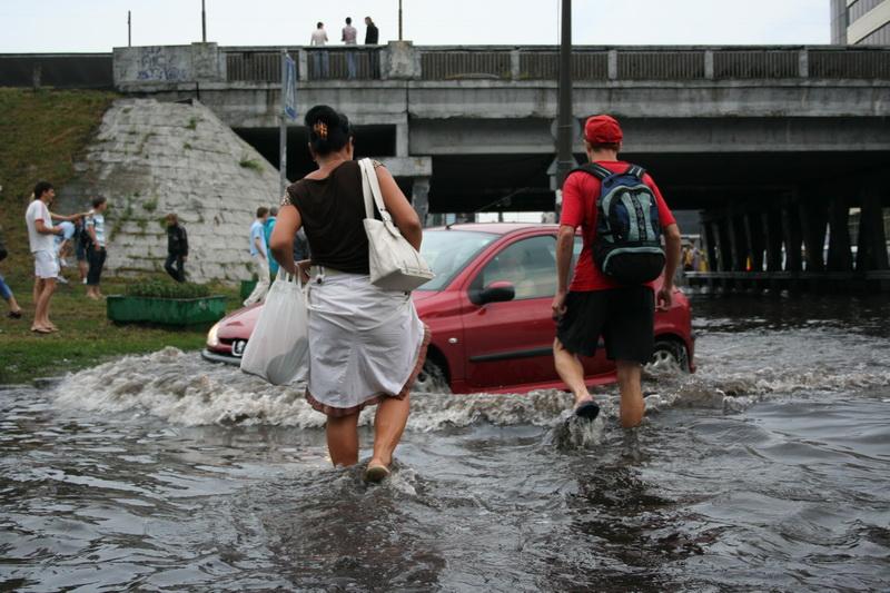 Russian flooding in Kiev 20