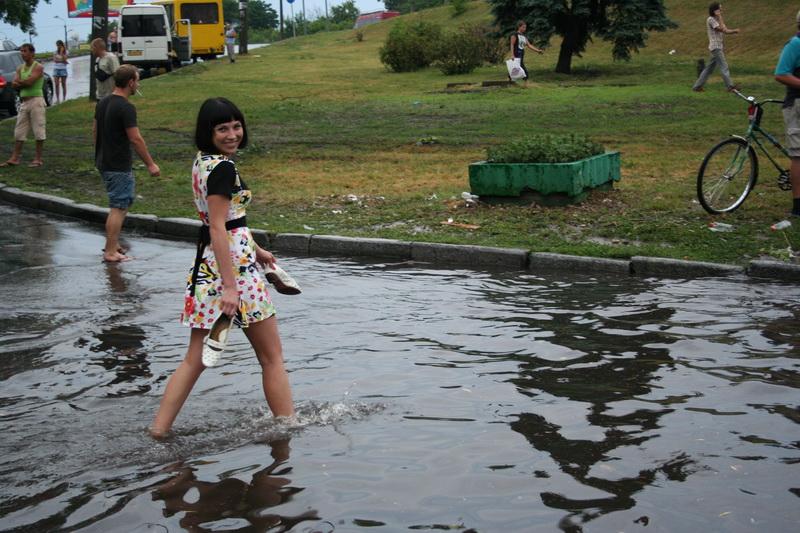 Russian flooding in Kiev 23